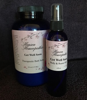Bath Salt n Spray Get Well Soon Set web20