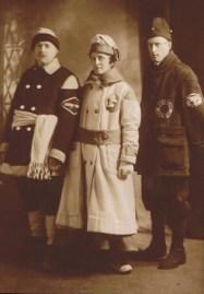 Frederick Wilhelm Schroeder, Auguste Wilhelmine (Besser) Schroeder, and Heinrich Ludwig Wilhelm Schroeder (ca. 1875)