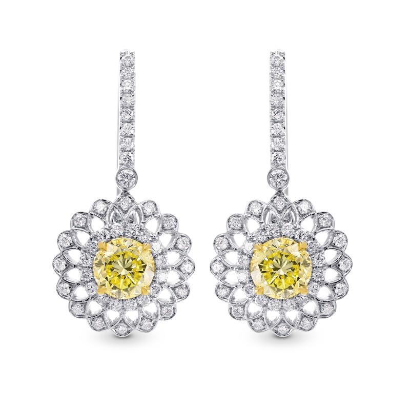 1-23cttw-round-brilliant-fancy-yellow-diamond-earrings