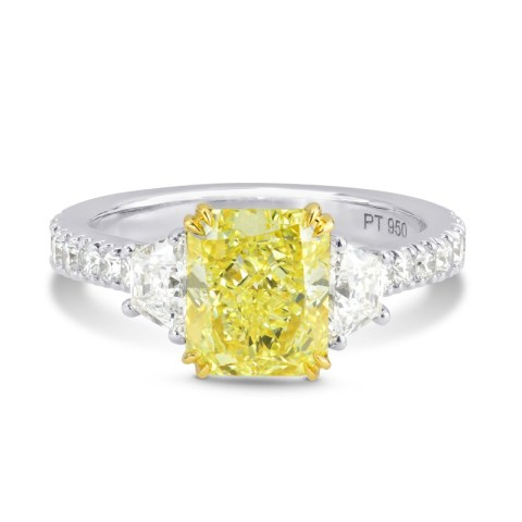2-21ct-radiant-fancy-yellow-diamond-ring