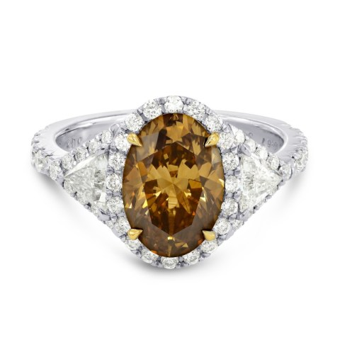 2-58ct-oval-fancy-brown-diamond-ring