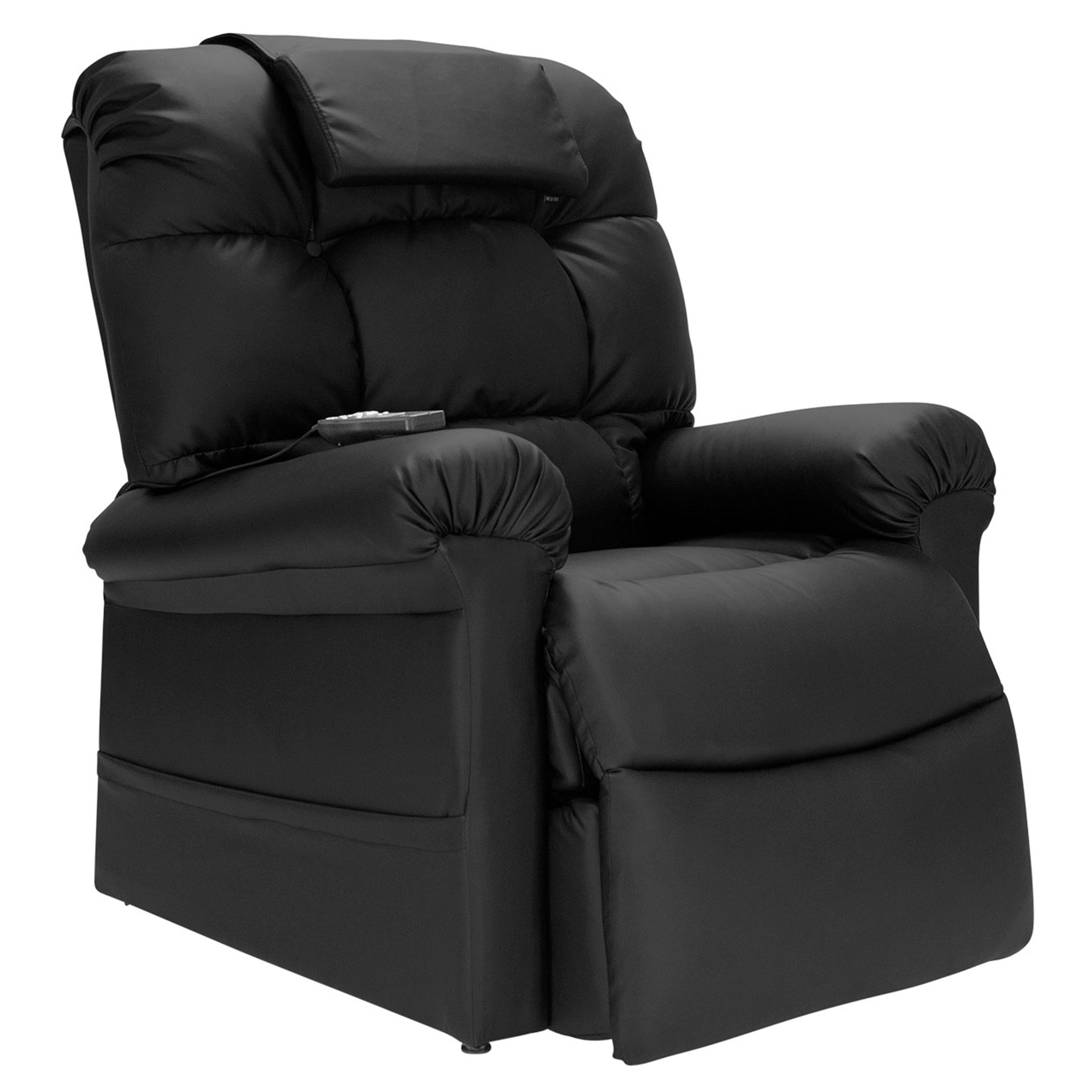 Astounding Wiselift 450 Sleeper Lift Chair Recliner Midnight Enduralux Leather Bralicious Painted Fabric Chair Ideas Braliciousco