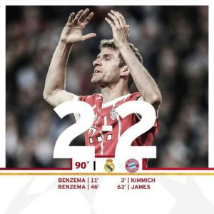 VIDEO: Real Madrid vs Bayern Munchen 2-2 – Highlights & Goals (Aggregate 4-3)