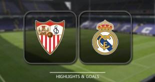 VIDEO: Sevilla vs Real Madrid 3-2 – Highlights & Goals