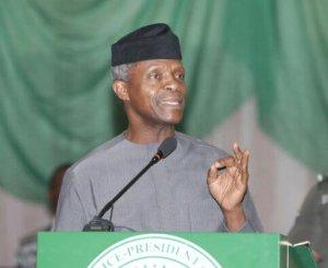 VP Osinbajo Praises Hardworking Nigerian Youths Said All Of Us Deserve Some Accolades