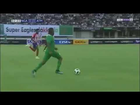 Video: Nigeria 2 – 3 Atletico Madrid [Friendly Match] Highlights & Goals