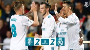 DOWNLOAD VIDEO: Villarreal vs Real Madrid 2-2 – Highlights & Goals