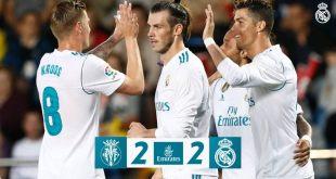 DOWNLOAD VIDEO: Villarreal vs Real Madrid 2-2 – Highlights & Goals