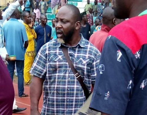 Meet The 'Untouchable' APC Youth Leader, Oosa Who Disrupted Ekiti Guber Primary Election (Photos+Video)