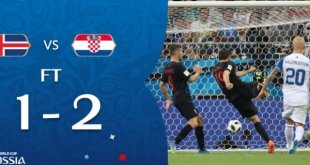 VIDEO: Iceland 1 vs 2 Croatia (2018 World Cup) - Highlights & Goals