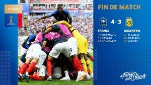 VIDEO: France 4 vs 3 Argentina (2018 World Cup) – Highlights & Goals