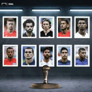 Ronaldo, Mbappe, Messi And Salah Leads Nominees For The Best FIFA Men's Player Of The Year