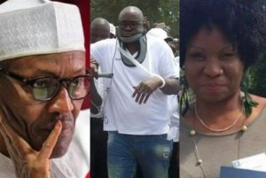Governor Fayose's Sister Reveals Dark Secrets About President Buhari And Fayose