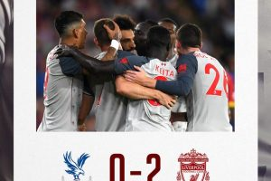 Crystal Palace 0 vs 2 Liverpool - Highlights & Goals