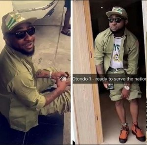 Davido Leaves Camp, Jets Out To America Just Days After Registering For NYSC In Lagos