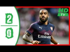 Arsenal 2 vs 0 Lazio (Club Friendly) - Highlights & Goals