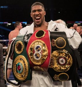 Anthony Joshua's Car Gets Stolen Just Days To His Big Fight With Povetkin