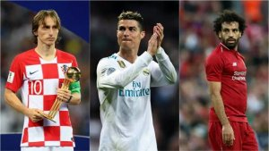 BEST FIFA AWARDS 2018 LIVE: Latest Update As Ronaldo, Modric, Salah Battle It Out