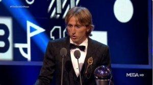 Luka Modric Wins FIFA Men's Player Award