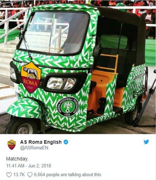 PHOTOS: Check Out 4 Times Italian Club, AS Roma Won Nigerians' Hearts