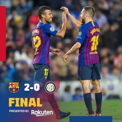 VIDEO: Barcelona 2 vs 0 Inter (Champions League) - Highlights & Goals
