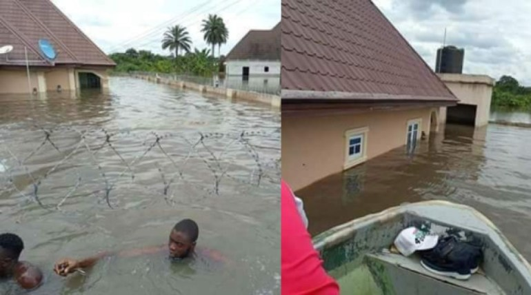 FLOOD Takes Over Delta Communities… Leaves Residents SWIMMING To Their Houses