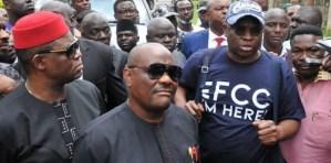 Drama As FFK Was Denied Accompanying Fayose Into EFFC Office