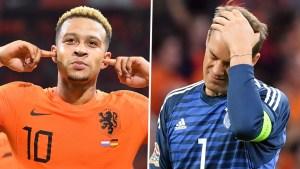 Netherlands 3 vs 0 Germany (UEFA Nation