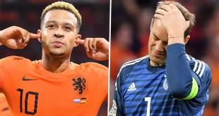 Netherlands 3 vs 0 Germany (UEFA Nation's League) Highlights & Goals
