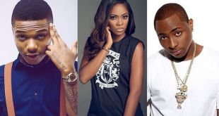 Wizkid Goes Misising While Davido, Tiwa Savage Get Nominated For 2018 MTV EMA (See Full List)