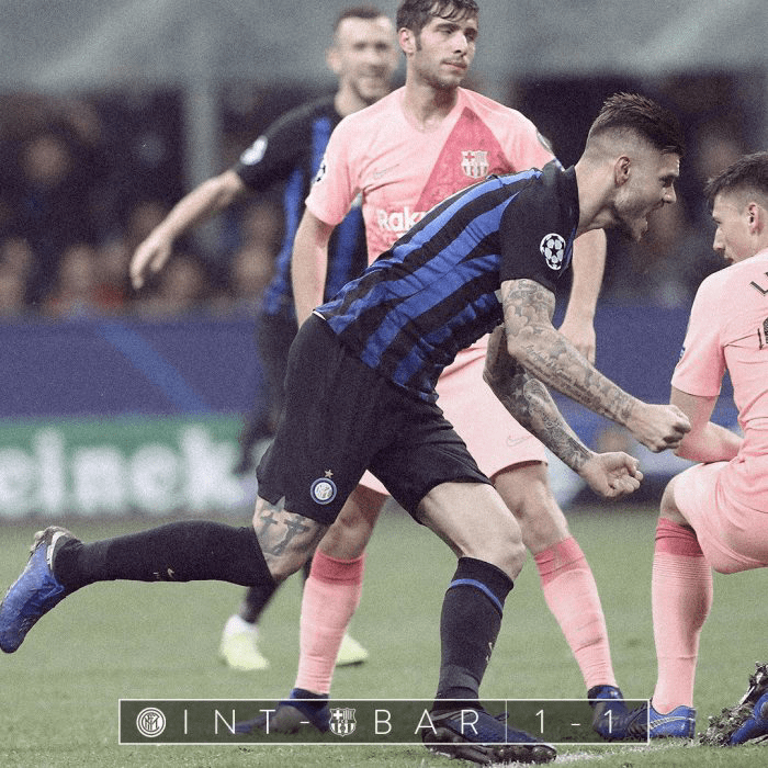 Video: Inter Milan 1 vs 1 Barcelona (Champions League) – Highlights & Goals