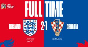 Video: England 2 vs 1 Croatia (UEFA Nations League) – Highlights & Goals