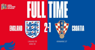 Video: England 2 vs 1 Croatia (UEFA Nations League) – Highlights & Goals