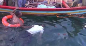 Photos: Over 20 Dead Bodies Found From The Sea Following A Boat Accident