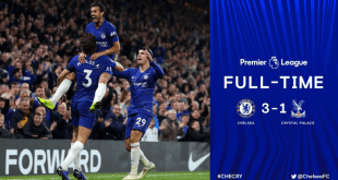 Video: Chelsea 3 vs 1 Crystal Palace (Premier League) - Highlights & Goals