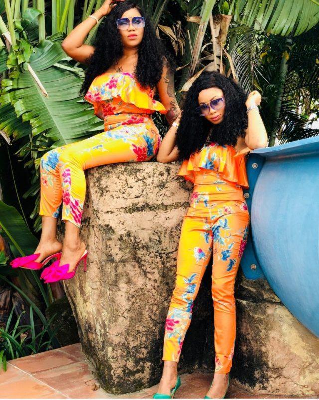 BBNaija's Nina And Toyin Lawani Finally Reconcile (Photos)