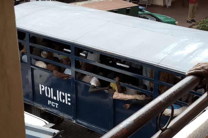 Nigerian Police Drag 120 Shiite Members To Court After Abuja Violence