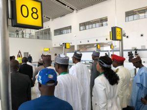 Photos: President Muhammadu Buhari Commissions New Abuja Airport Terminal