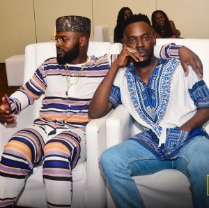 Simi Reacts To Photo Of Falz And Adekunle Gold Holding Each Other