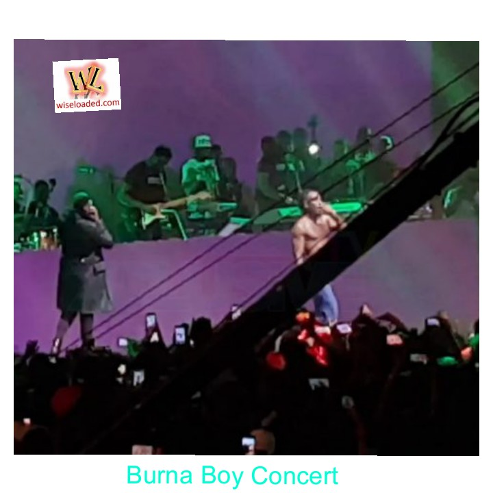 DBanj & 2Baba Join Burna Boy On Stage At Burna Boy Concert (Watch Video)