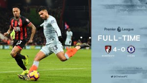 Bournemouth vs Chelsea 4-0 - Highlights & Goals