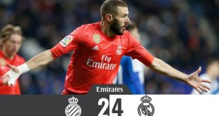 Espanyol vs Real Madrid 2-4 - Highlights & Goals