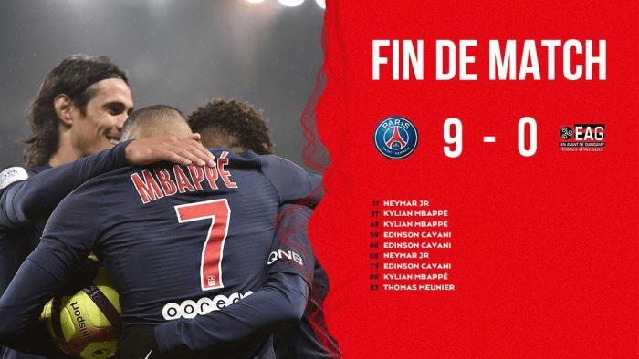 PSG vs Guingamp 9-0 – Highlights & Goals
