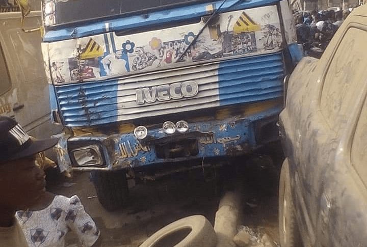 Trailer Loses Control As Many Injured, Dead Body Found In Ibadan