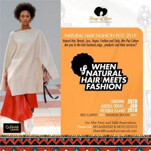 Natural Hair Fashion Fest 2019:Courtesy – House of Noir Naturals