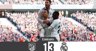 Atletico Madrid vs Real Madrid 1-3 - Highlights & Goals