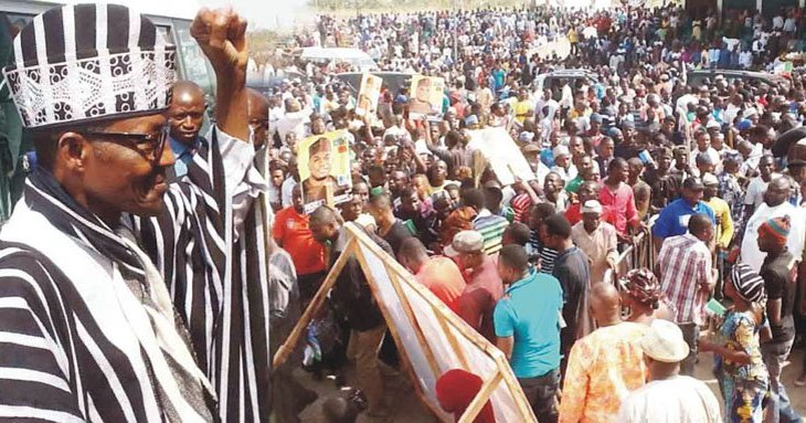 Full Details Of What President Buhari Said At APC Rally In Benue