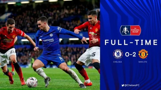 Chelsea vs Manchester United 0-2 - Highlights & Goals