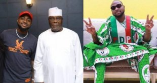 Atiku Claims Davido Is The King Of Nigerian Music