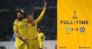 Malmo vs Chelsea 1-2 - Highlights & Goals